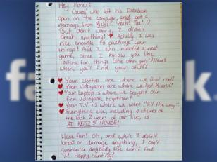 Carta de una mujer engañada
