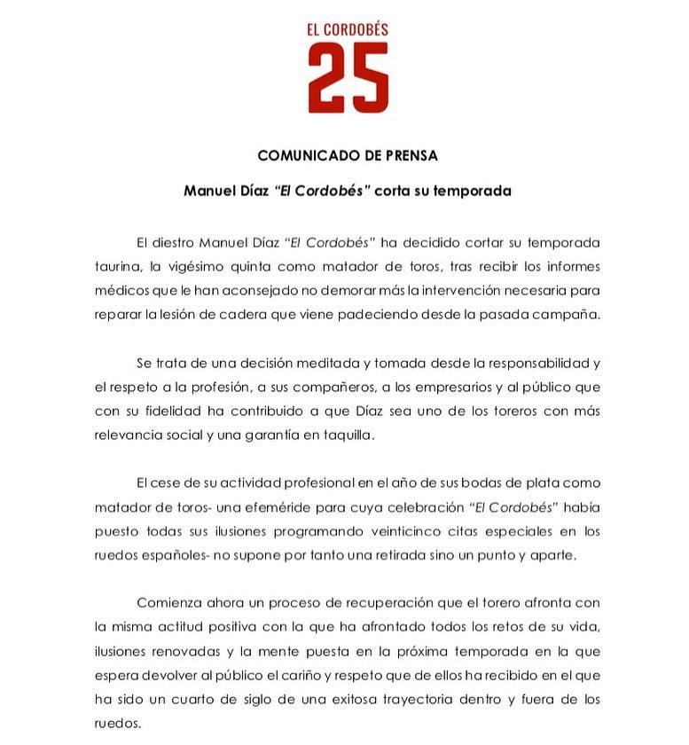 """Manuel Díaz """"El Cordobés"""""""