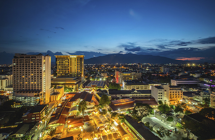 Chiang Mai en Tailandia