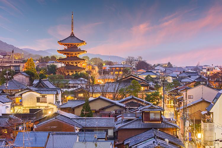 Kyoto en Japón